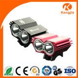 Xml-T6 Hihg Power Headlamp 1800 Lumen LED Bicycle Light
