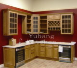 Customized Solid Wood Traditional Kitchen Cabinet #160