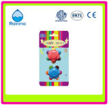 3D Plastci Crayon with Flower and Earth Shape