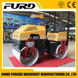 Hydraulic Steering 1 Ton Tandem Drum Road Roller (FYL-880)
