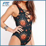 One Piece Sun Woman′s Fashion Bikini Swimsuit Beach Wear