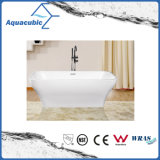 Bathroom Square Acrylic Free-Standing Bathtub (AB1520W)
