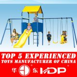 Garden Furniture Toys Gym Childrens Playground Swing Set (HD13-213B)