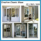 Clear Tempered Glass for Window/Door Glass with Good Price