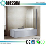 Sanitary Ware Bathroom Tempered Glass Pivot Adjustable Bathtub Shower Screen