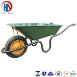 Metal Green Tray Wheel Barrow