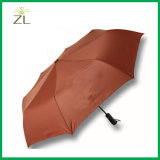 Make Your Own Photography Custom Print Auto Open Folding Umbrella with Pongee in Hangzhou