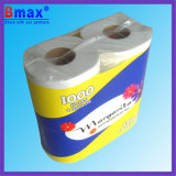 4 Rolls Toilet Paper Logo Customized Bathroom Tissue Paper