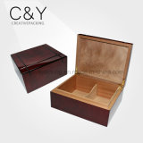 New Arrival Laser Cedar Wooden Cigar Box for Sale
