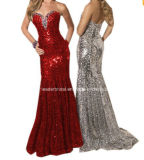 Sheath Evening Dress Mermaid Sequins Crystal Prom Cocktail Dress E52713