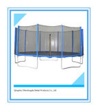 14FT Round Trampoline with 5W-Shaped Legs for Backyard