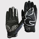 Black-White Fashion Full Finger Gloves for Sports Racing Glove (MAG54)