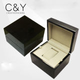 Wholesale Black Glossy Piano Finish Wooden Watch Box