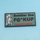 Custom 3D Military PVC Patches with Magic Tape Backing