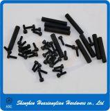 White Black Color Round Hex Body Pbc Plastic Spacer Support