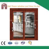 Double Glazing Aluminum Sliding Exterior Door