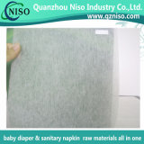White Adl Nonwoven for Diaper Raw Materials with SGS (GH-056)