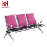 3-Seater Metal Steel Waiting Chair for Sale