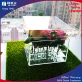 Customized Special Transparent Acrylic Gift Flower Box