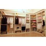 Grade E1 White Maple Melamine Open Type Cloakroom Wardrobe