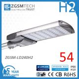 with Factory Price High Light Efficacy 240W LED Street Light Price Ce GS Listed