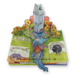 Pop up Children Board Book Printing (OEM-CB005)