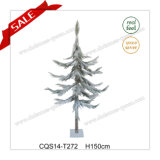 H120-180cm Snow Effect Christmas Tree Plastic Easter Decoration Craft