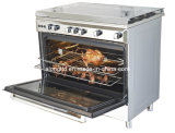 Free Standing Gas Oven with Gas Burner (AX9602GIBM-M)