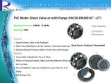 Plastic UPVC Wafer Check Valve 160mm to 315mm
