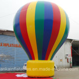 Oxford Colorful Inflatable Hot Air Shaped Ground Balloon for Trade Show