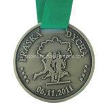 Custom Medal in Antique Sliver Plating