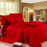 Chinese Style 100% Cotton Luxury Wedding Bedding Set