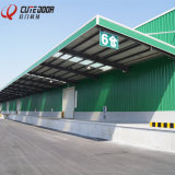 Top Quality Huge Industrial Sectional Sliding Aluminium Profile Warehouse Garage Door