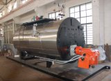 500-6000kg/H Fire Tube 3 Pass Wet Back Type Oil Fired Steam Boiler