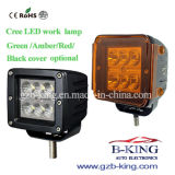 18W CREE LED Work Light with Amber Cover