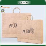 Logo Printing 180GSM Thick Kraft Paper Shopping Bag