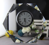 Crystal Decorative K9 Crystal Clock Craft (KS06039)