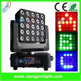 25X12W RGB-W Matrix LED Moving Head DJ Equipment