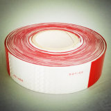 White and Red DOT High Visuable Trailer Conspicuity Marking Reflective Tape for Vehicle