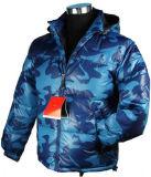 2015 Mens Nylon Light Padded Blue Camo Down Jacket