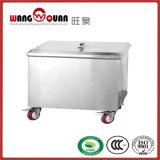 Stainless Steel Kitchen Flour Trolley