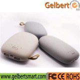Cute Oval Portable External Mobile Phone Charger with RoHS