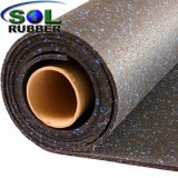 Recycled SBR Crossfit Commercial Gym Roll Rubber Flooring