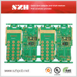 Red Solder Mask and HASL Surface Type Double Sided PCB