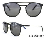 New Brand Designer Metal Polarized Fashion Sunglasses