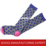 100% Cotton of Woman Coloful Tube Sock (UBM1038)