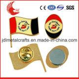 Metal Material Soft Enamel of National Flag Pin Badge