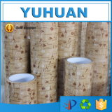 Wet Water Activated Kraft Paper Gummed Tape with High Quality