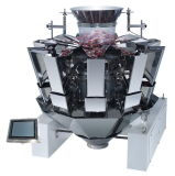 Fried Peanut Automatic Weighing Machine 10 Heads Combination Weigher Jy-10hst