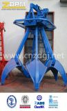 Electric Hydraulic Orange-Peel Grab for Barge Material Handling